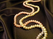 Pearls necklace — Stock Photo