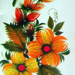 Stock Photo: Orange flowers bouquet