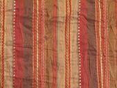 棕色条纹的面料 — 图库照片