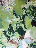 Green fabric — Stock Photo