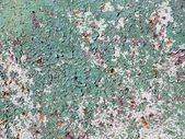 Old green rusty surface — Stock Photo