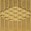 Yellow wicker abstract - Stock Photo
