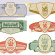 Vintage style labels — Stock Vector #2824621