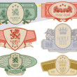 Vintage style labels — Vector de stock #2824622