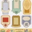 Etiquetas de estilo vintage — Vector de stock