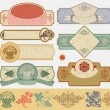 Vintage style labels — Stock Vector #2993092