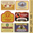 Vector de stock : Vintage Label