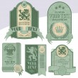 Vintage Label — Stock Vector