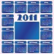 Calendar for Year 2011 — Stock Vector #3661959