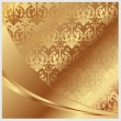Stock Vector: Gold vector background