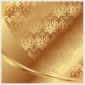 Gold vector background — Stock Vector