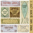Vintage style label — Vector de stock