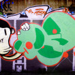 Graffiti wall background — Stock Photo #3080009