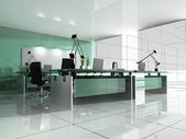 Modern interior of office — Foto Stock