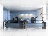 Luogo di lavoro presso l'ufficio moderno — Foto Stock