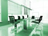 Modern inredning av kontor — Stockfoto