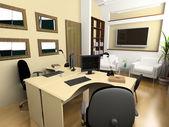 Nowoczesne biuro — Zdjęcie stockowe