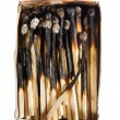 Dead matches — Stock Photo