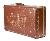 Old suitcase — Stockfoto