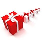 Gift presentation — Stock Photo