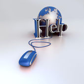Global Help — Stock Photo
