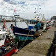 Fishing boats dock — Stock Photo