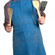 Happy young cook — Stock Photo