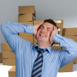 Stock Photo: Logistics nightmare