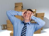 Logistics nightmare — Stock Photo