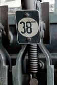 Machine number 38 — Stock Photo