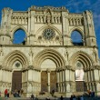 Frontal view of Cuenca Cathedral — Stock Photo