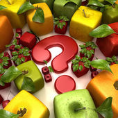 Fruit question — Stock Photo