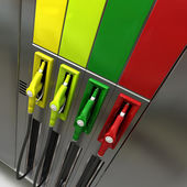 Petro station — Stock Photo