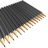 Grey pencils — Stock Photo