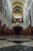 Vnitřek katedrály madrid — Stock fotografie