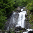 Mountain waterfall - Stock Photo