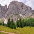 Stock Photo: Dolomiti landscape