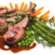 Stock Photo: Lamb Chops