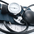 Stock Photo: Manometer, stethoscope
