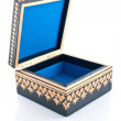 Casket for storage of jewelry — Stock Photo