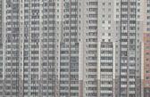 Building windows details — Stock Photo