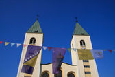 Church of Medjugorje — Stock Photo