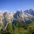 Grandes Jorasses — Stock Photo #3887396