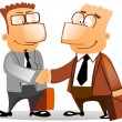 Handshake business - Stock Photo
