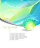 Green Abstract Background — Cтоковый вектор
