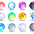 Vector de stock : Spheres
