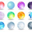 Spheres - Stock Vector