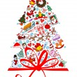 Christmas Tree — Stockvector #2834836
