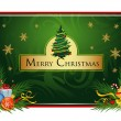 Royalty-Free Stock Vector Image: Christams greeting card