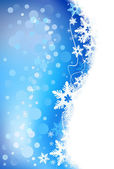 Winter holiday background. — Stock Vector
